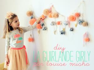 guirlande diy girly