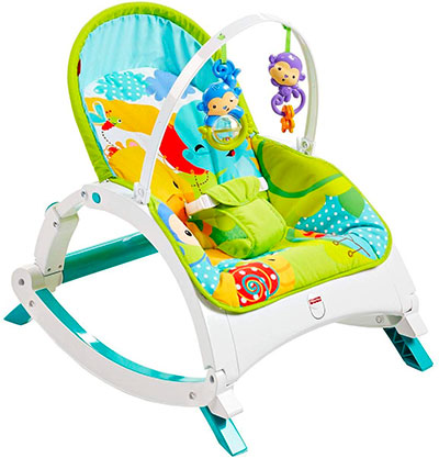 Transat évolutif Fisher-Price Amis de la jungle