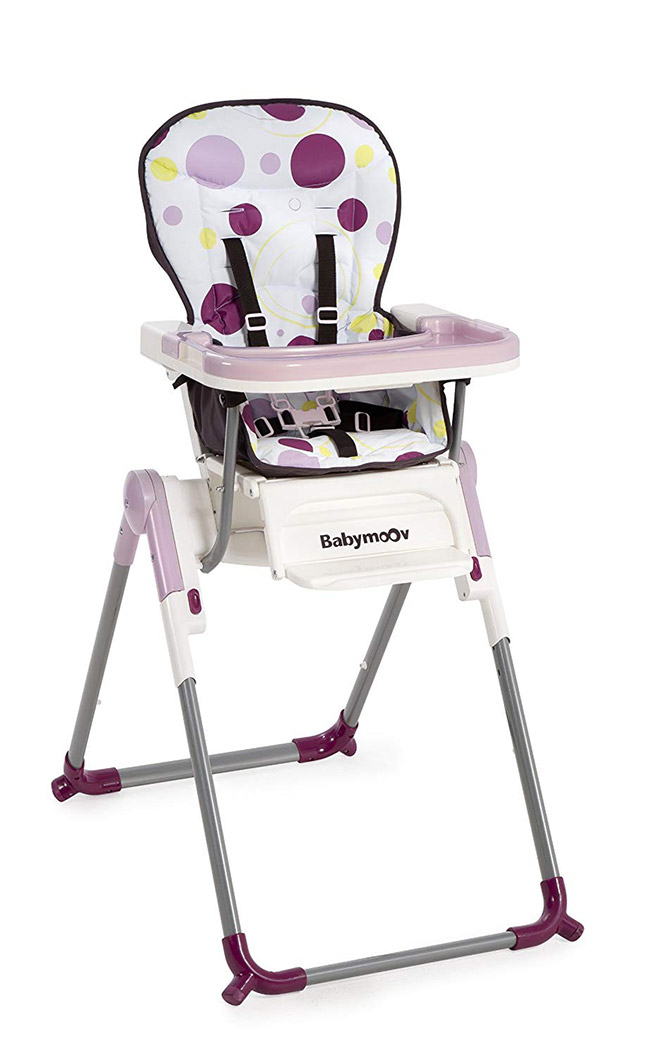 Babymoov Chaise-Haute Slim Prune