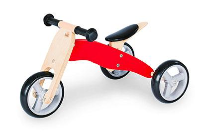 Draisienne en bois tricycle Charlie Pinolino