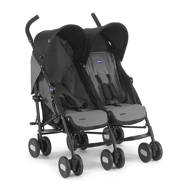 chicco echo poussette double