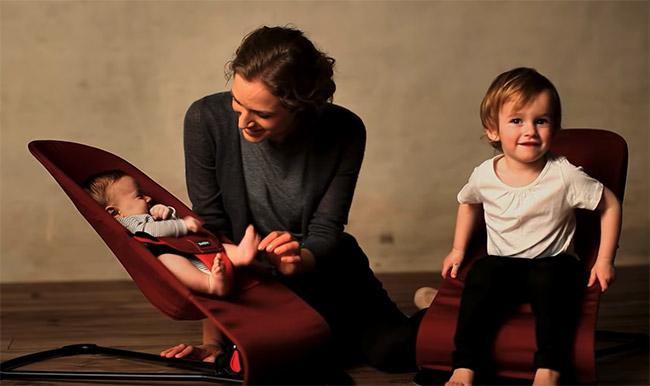 babybjorn balance soft avec enfants