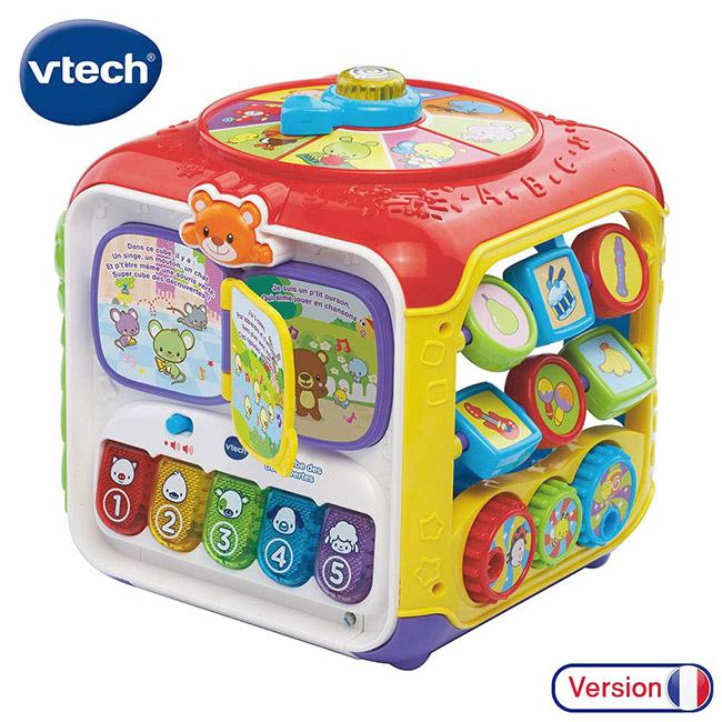 cube d'activité bébé Vtech découverte