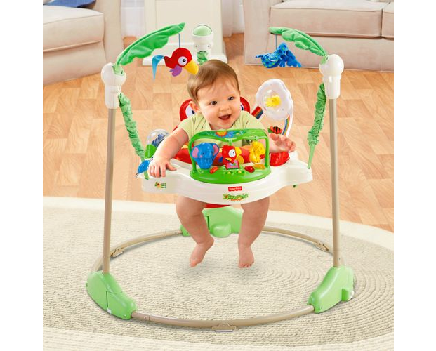 jumperoo jungle avec bébé