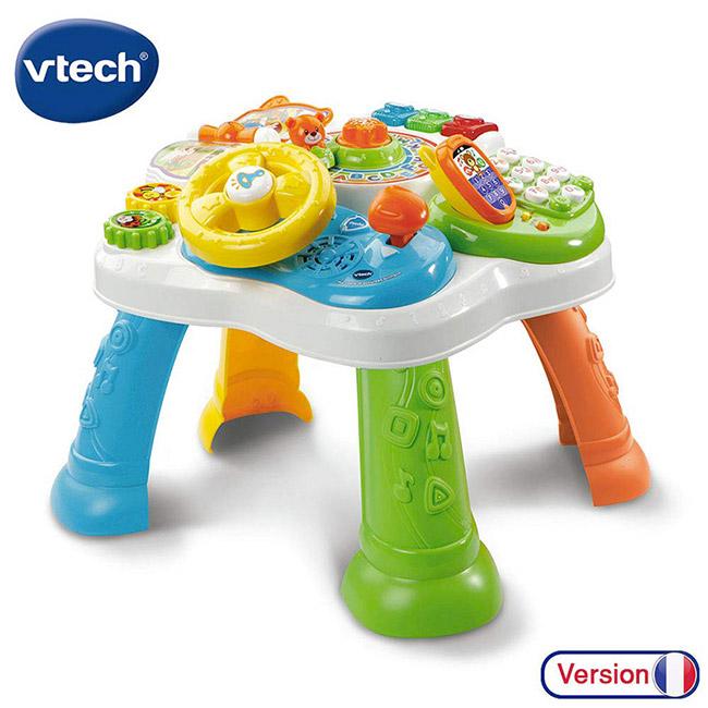 vtech table d'activité bilingue