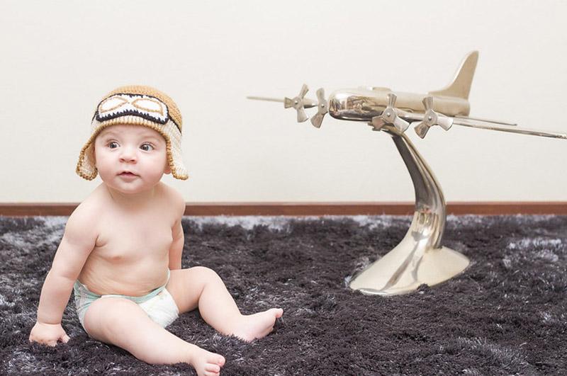 prendre l'avion avec bébé