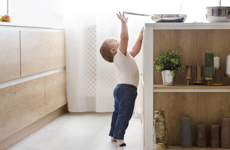 sécurisé sa cuisine pour bébé