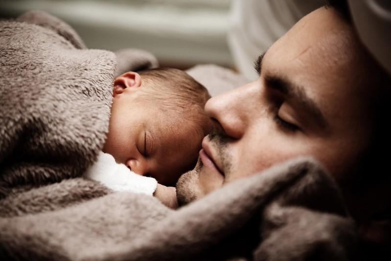sommeil calme avec bébé